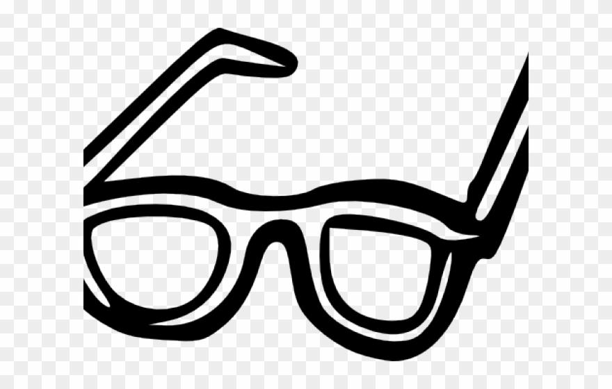 Sunglasses clipart goggle. Glasses black and white