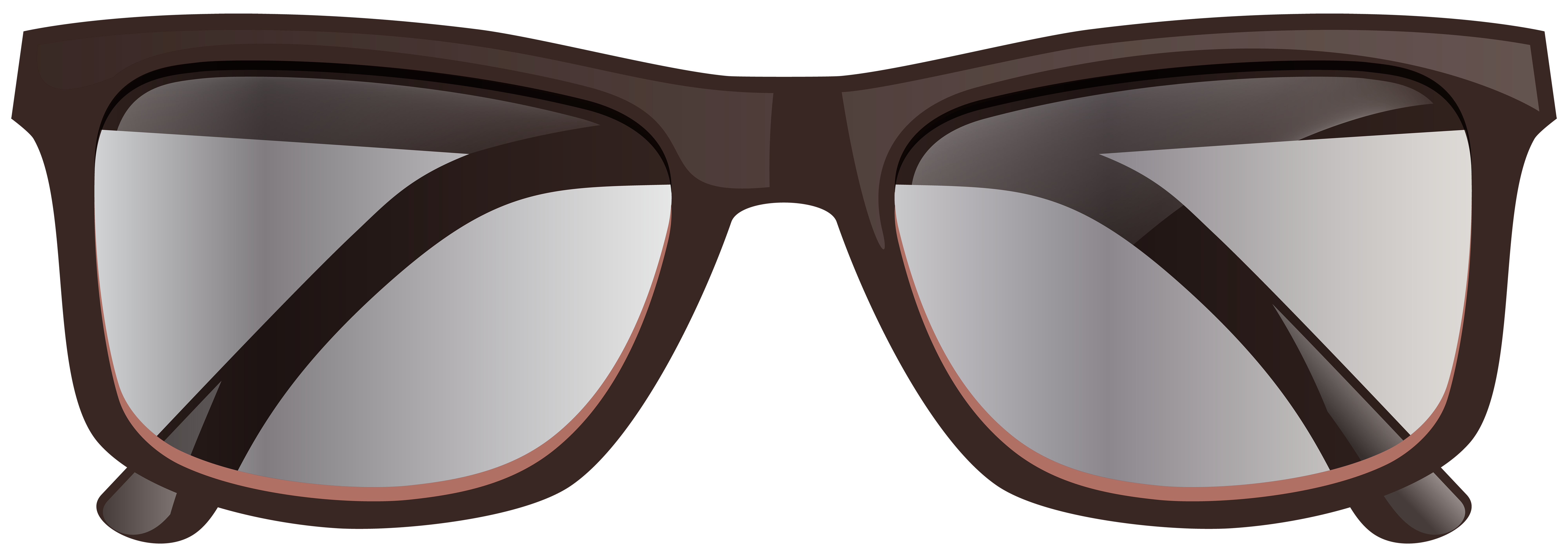 Glasses png clip art. Eyeglasses clipart brown glass