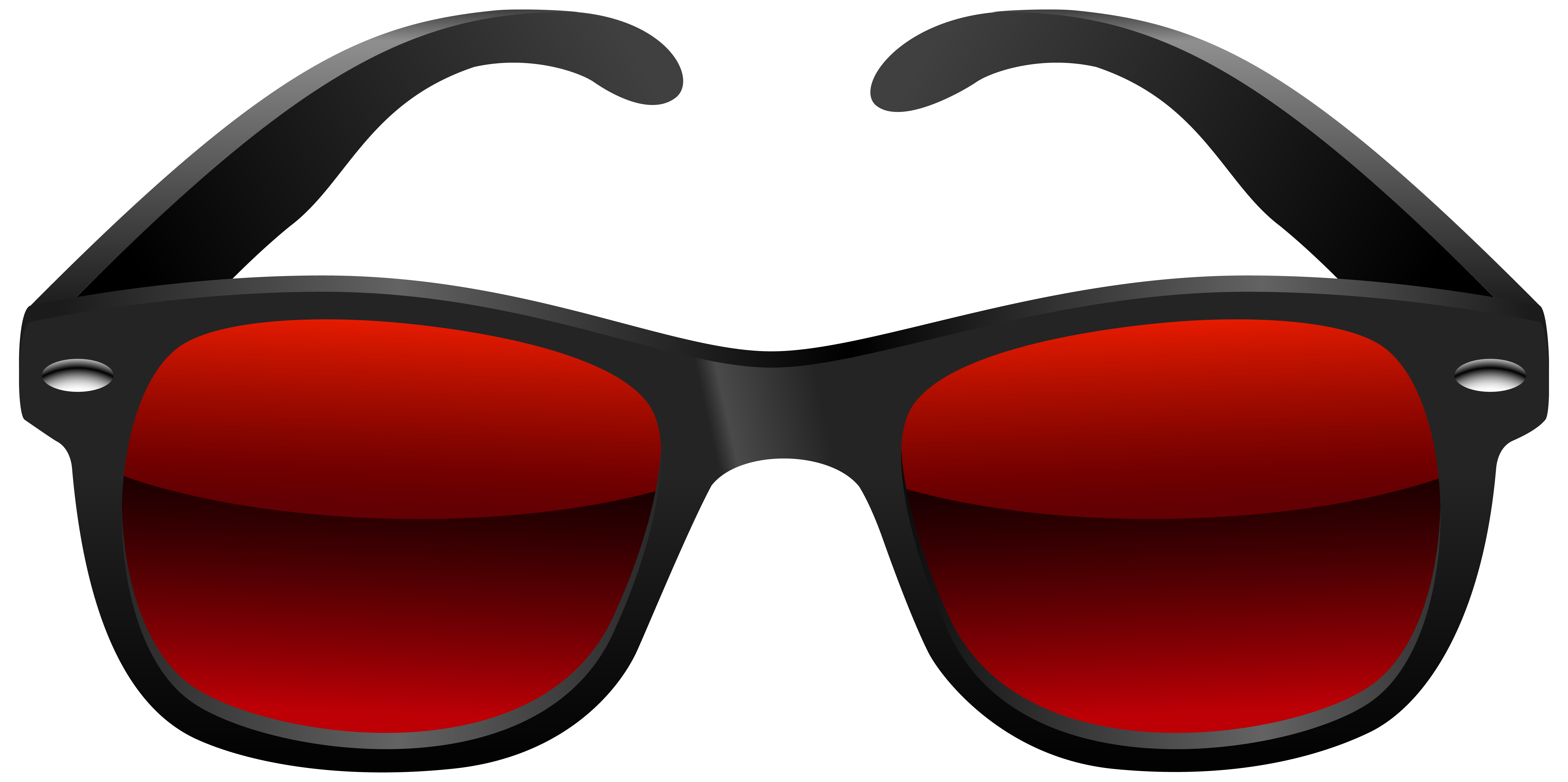 Black and png image. Clipart sunglasses red white blue