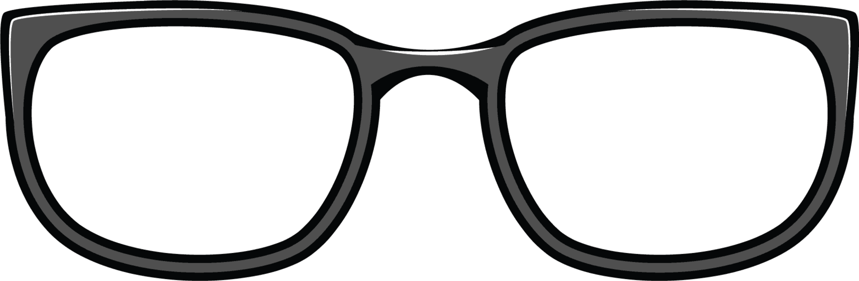 glasses clipart line art