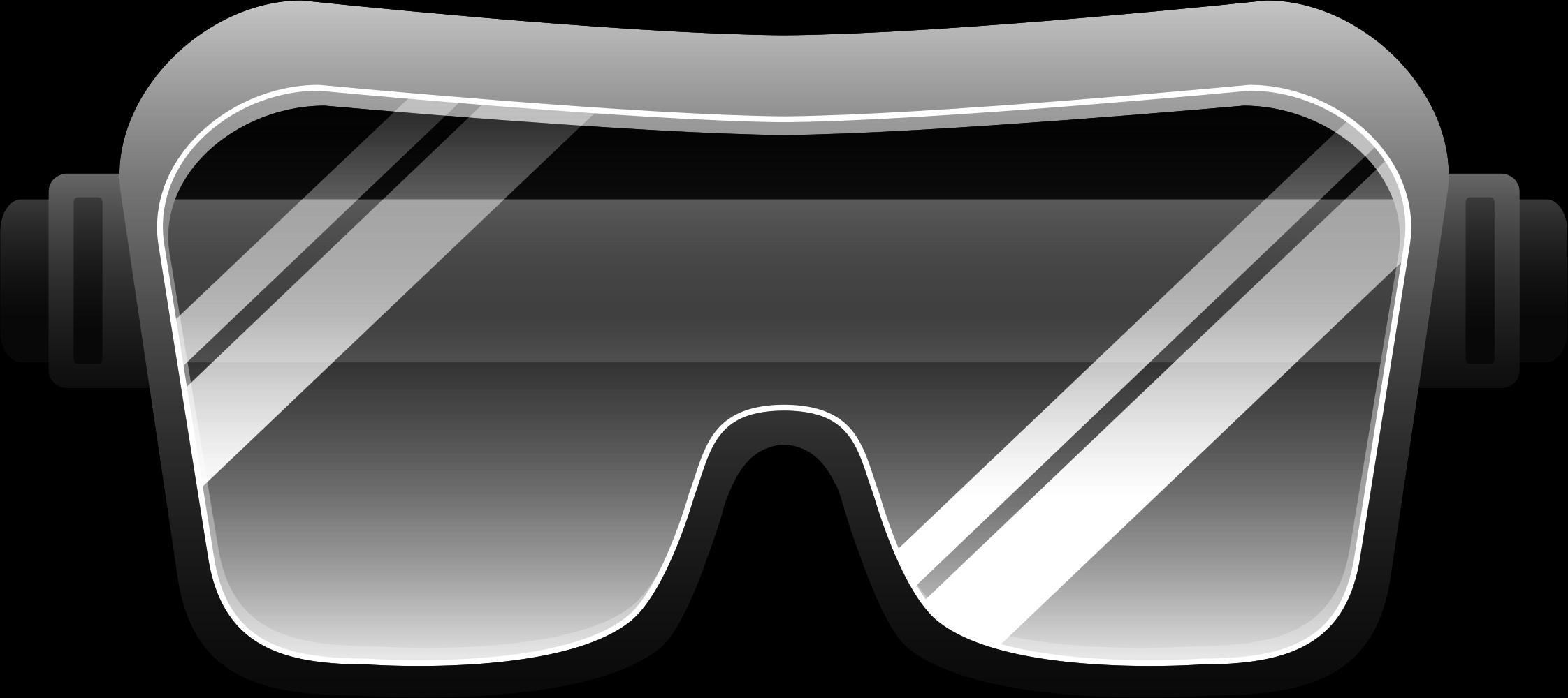 Sunglasses clipart clip art. Goggles eye protection glasses