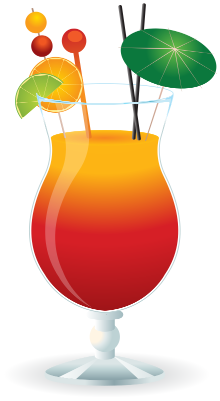 collection of mixed. Drink clipart martini