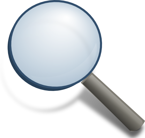 Detective clipart magnifier. Magnifying glass clip art