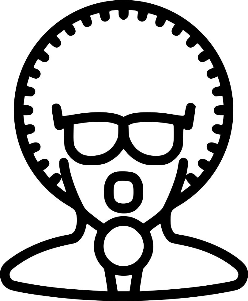 Clipart glasses disco. Artist singer vocalist performer
