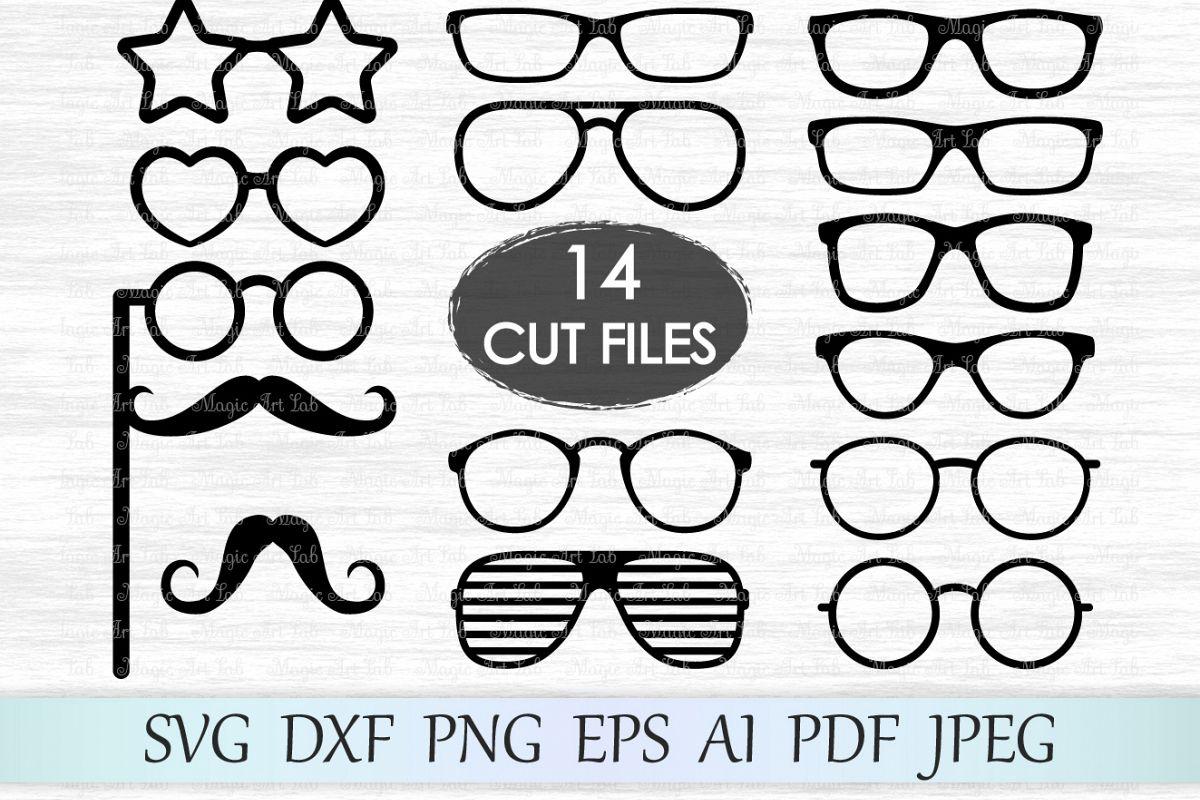 Svg eyeglasses photobooth hipster. Glasses clipart file