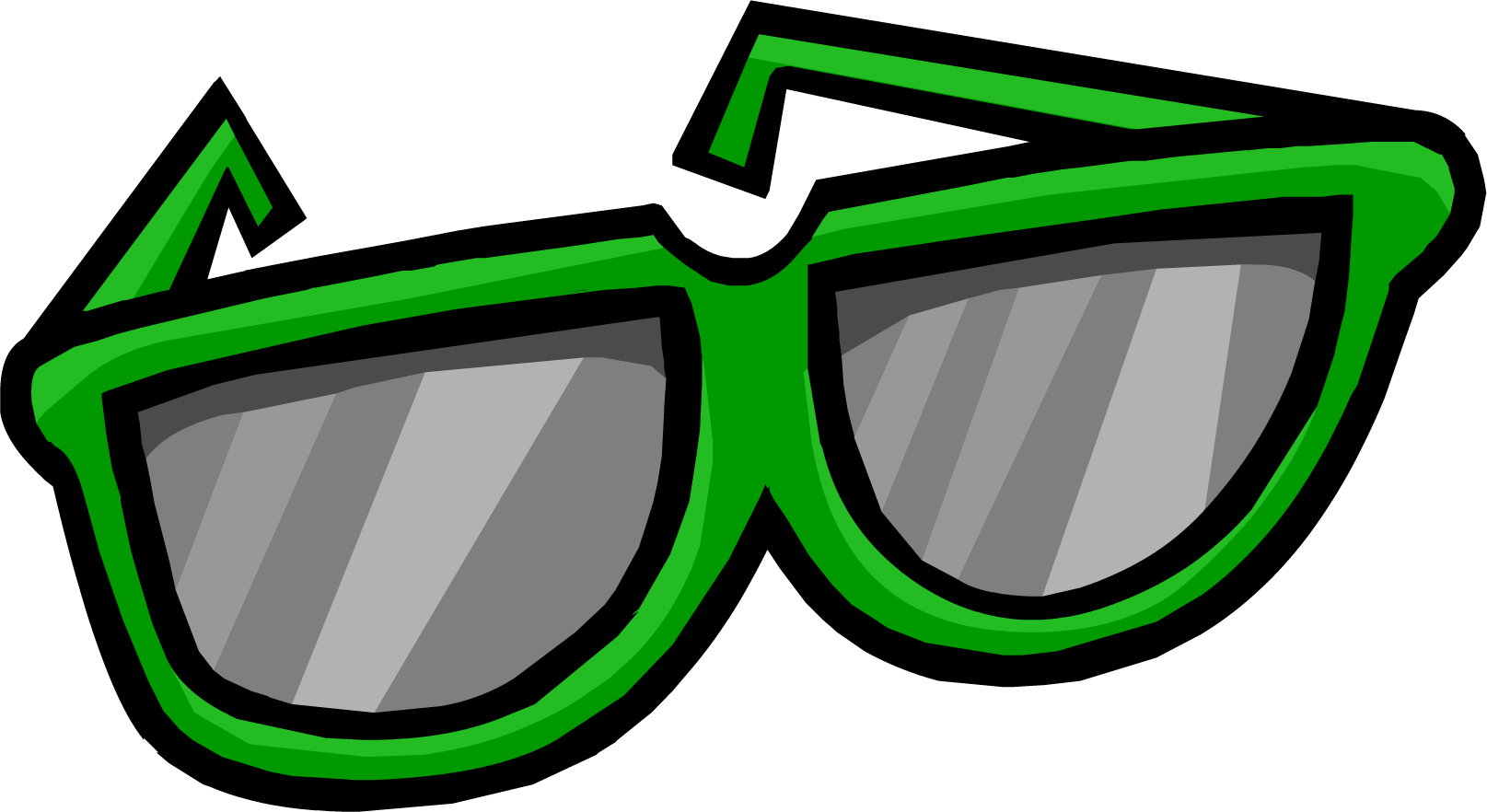 Image giant green png. Clipart sunglasses diva