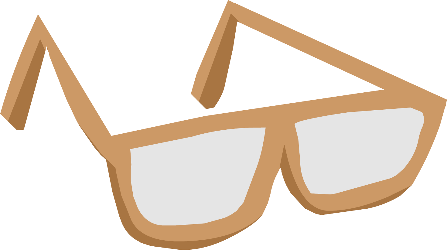 Sunglasses clipart small. Image brown glasses clothing