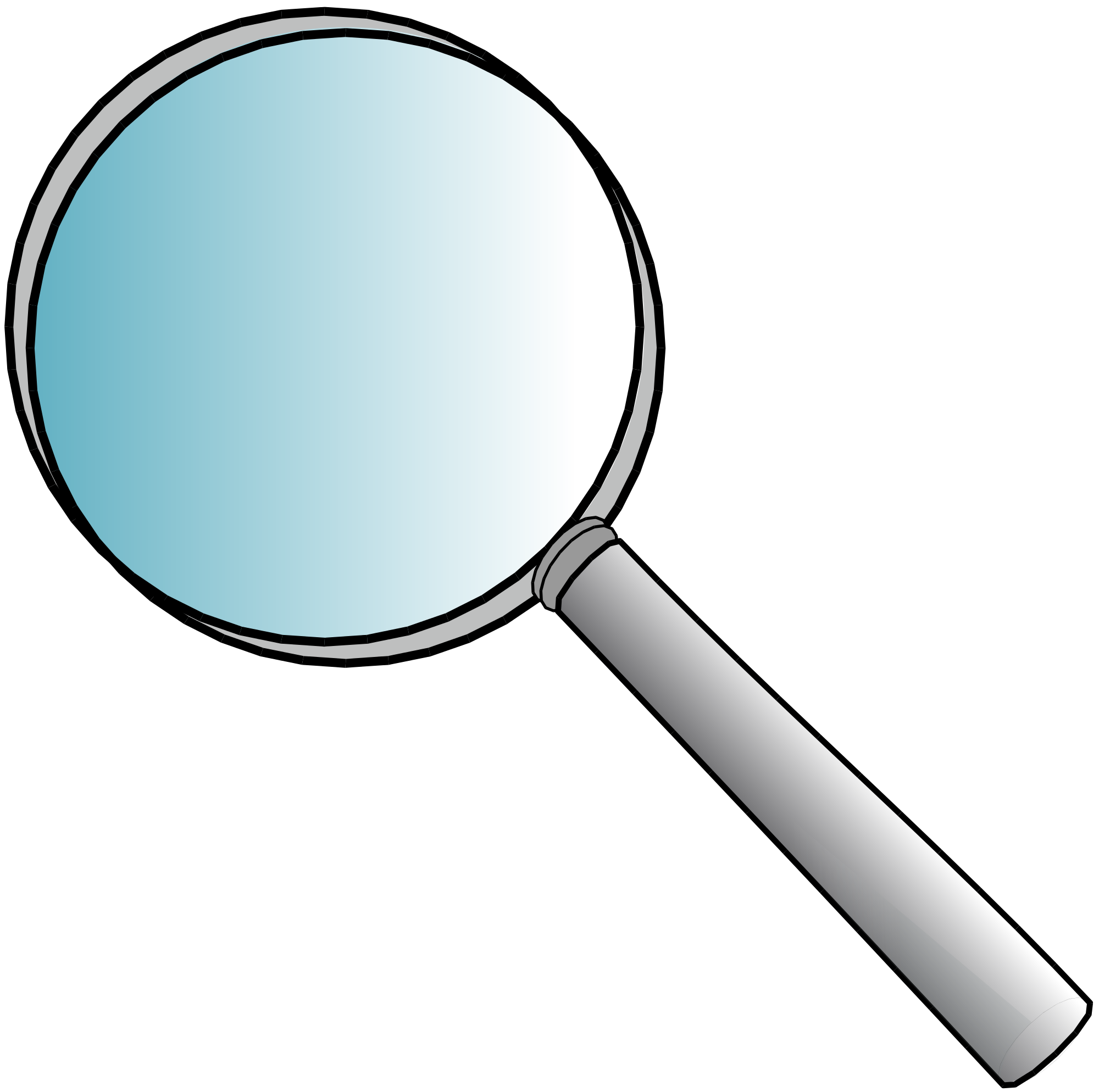 File magnifying svg wikimedia. Girl clipart glass