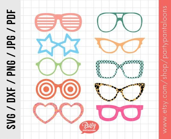 Glasses clipart file. Eyeglasses svg sunglasses cricut