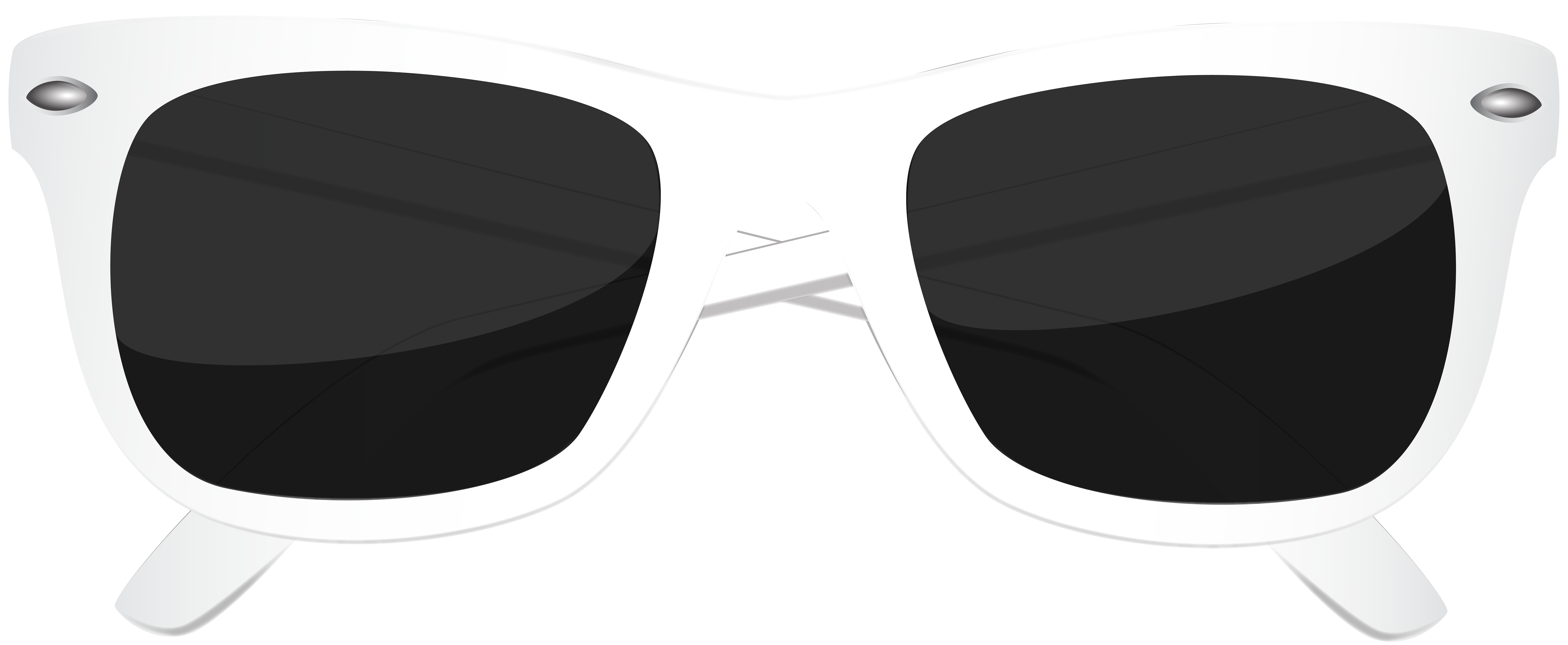 Clipart sunglasses line art. White png clip image