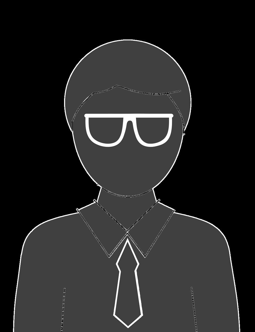 Clipart glasses gentleman. Scientist clip art transprent