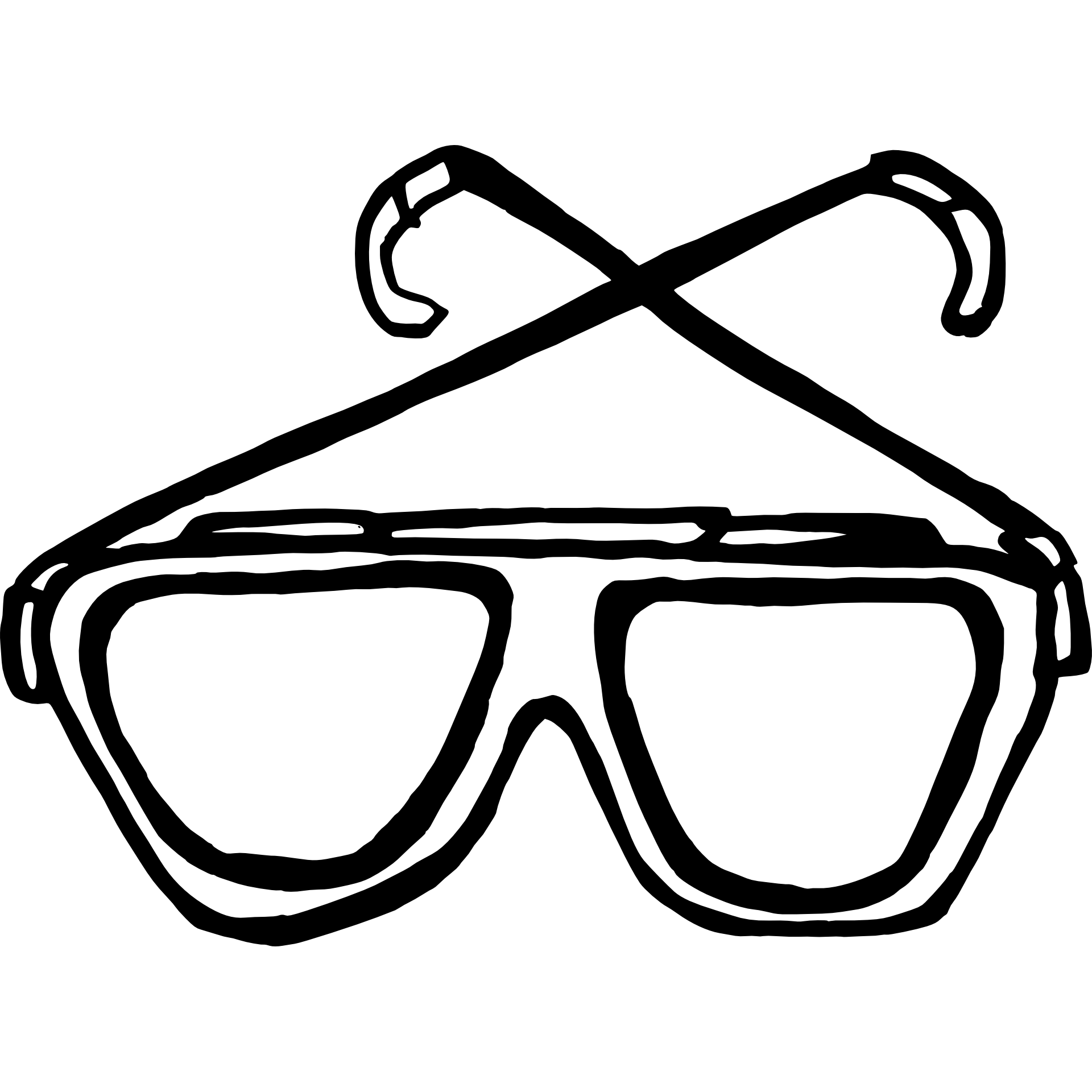 clipart sunglasses spectacle frame