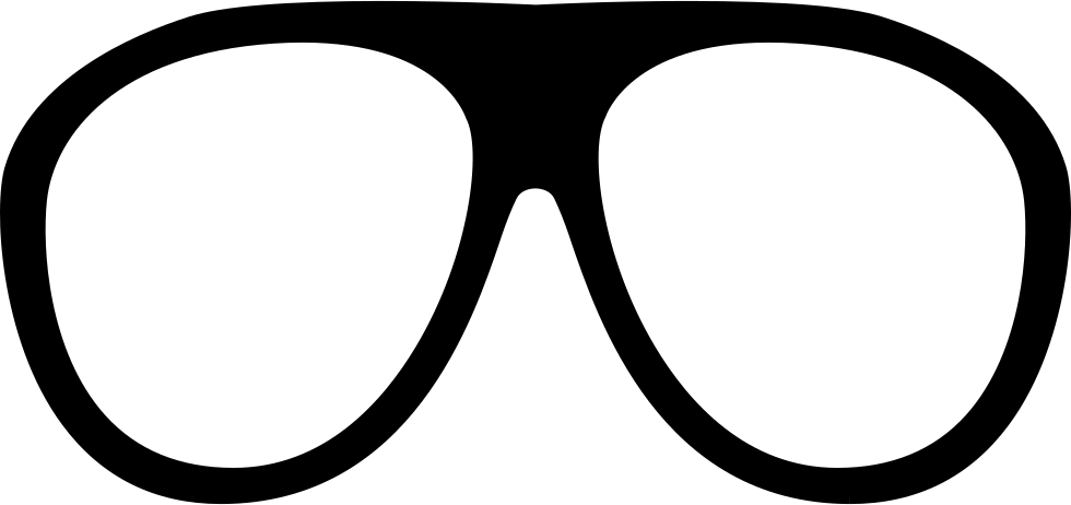 Glasses shape svg png. Sunglasses clipart circular