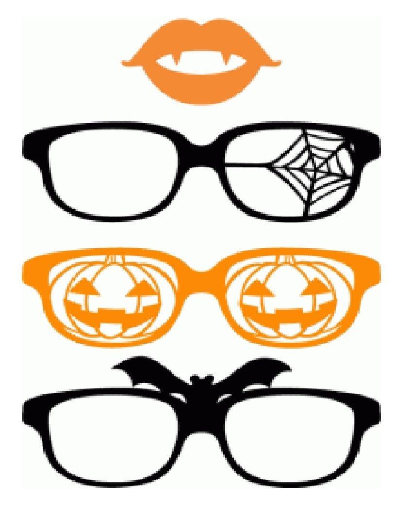 clipart glasses halloween