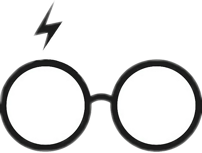 Eyeglasses clipart harry potter. Hp harrypotter jamespotter