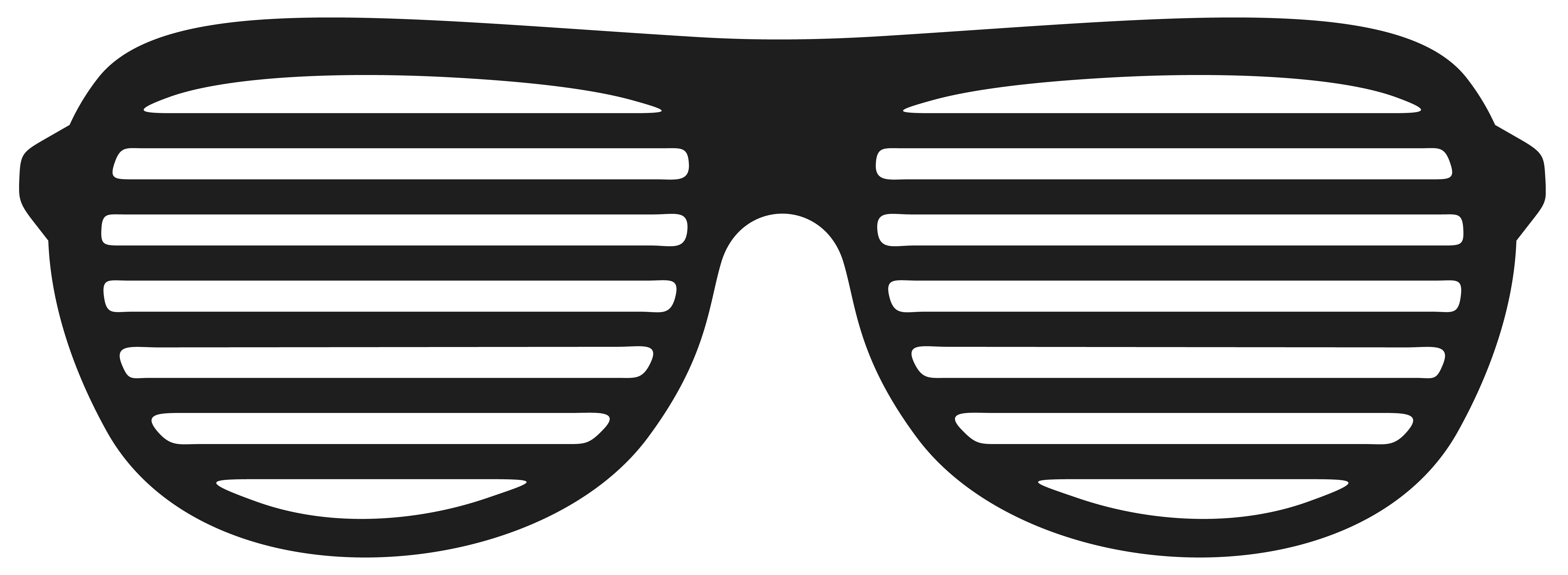 Movember shutter glasses png. Clipart sunglasses black and white