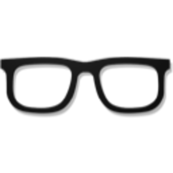 Sunglasses clipart stylish. Hipster glass pencil and