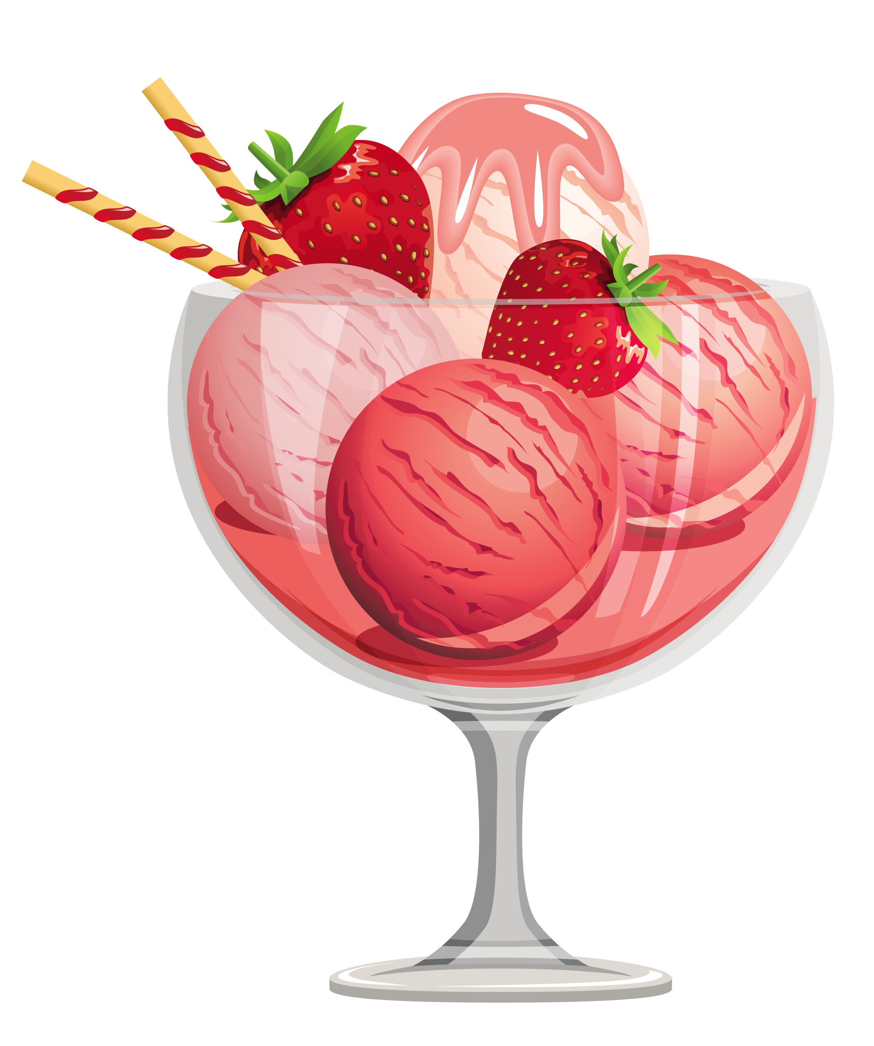 Free clip art sundae. Glasses clipart ice cream