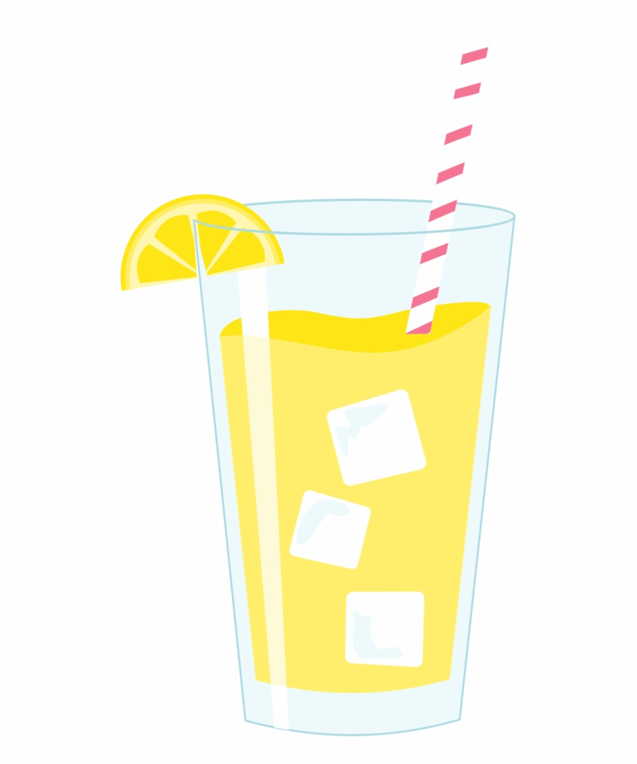 Lemonade clipart transparent background. Glass of png download