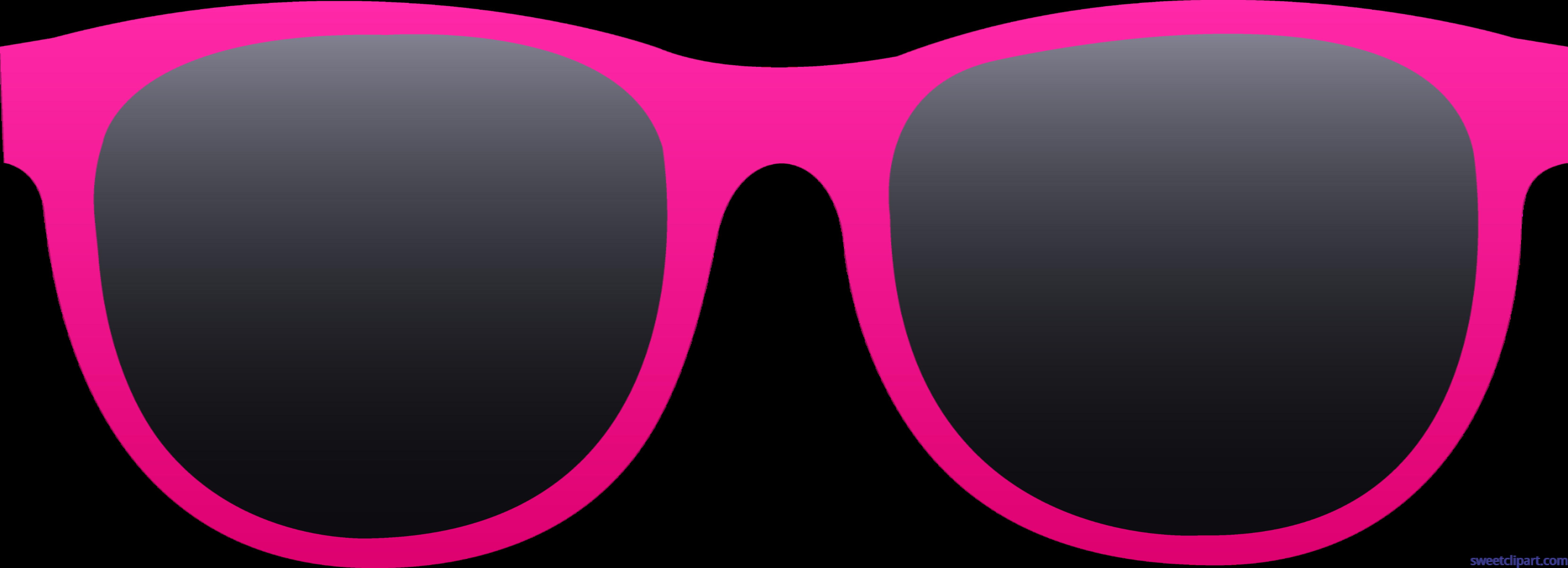 Pink clip art sweet. Purple clipart sunglasses