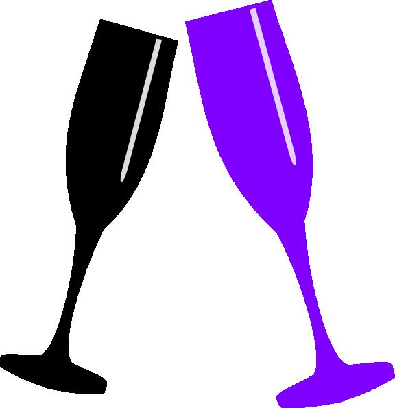 Champagne glass clip art. Sunglasses clipart purple