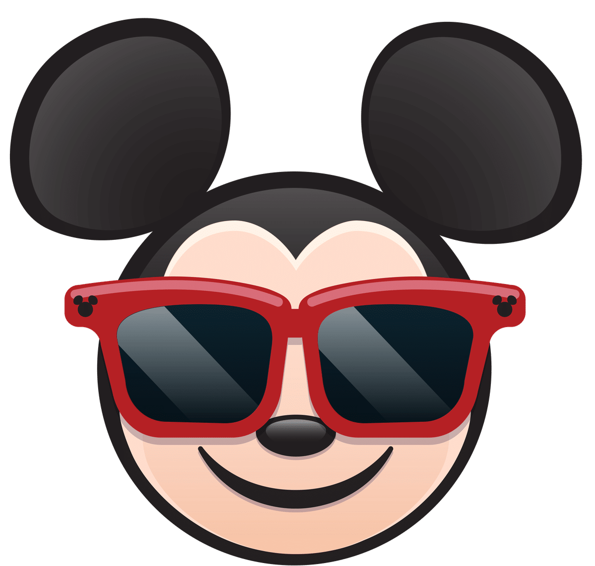 Chip chick . Mickey clipart sunglasses