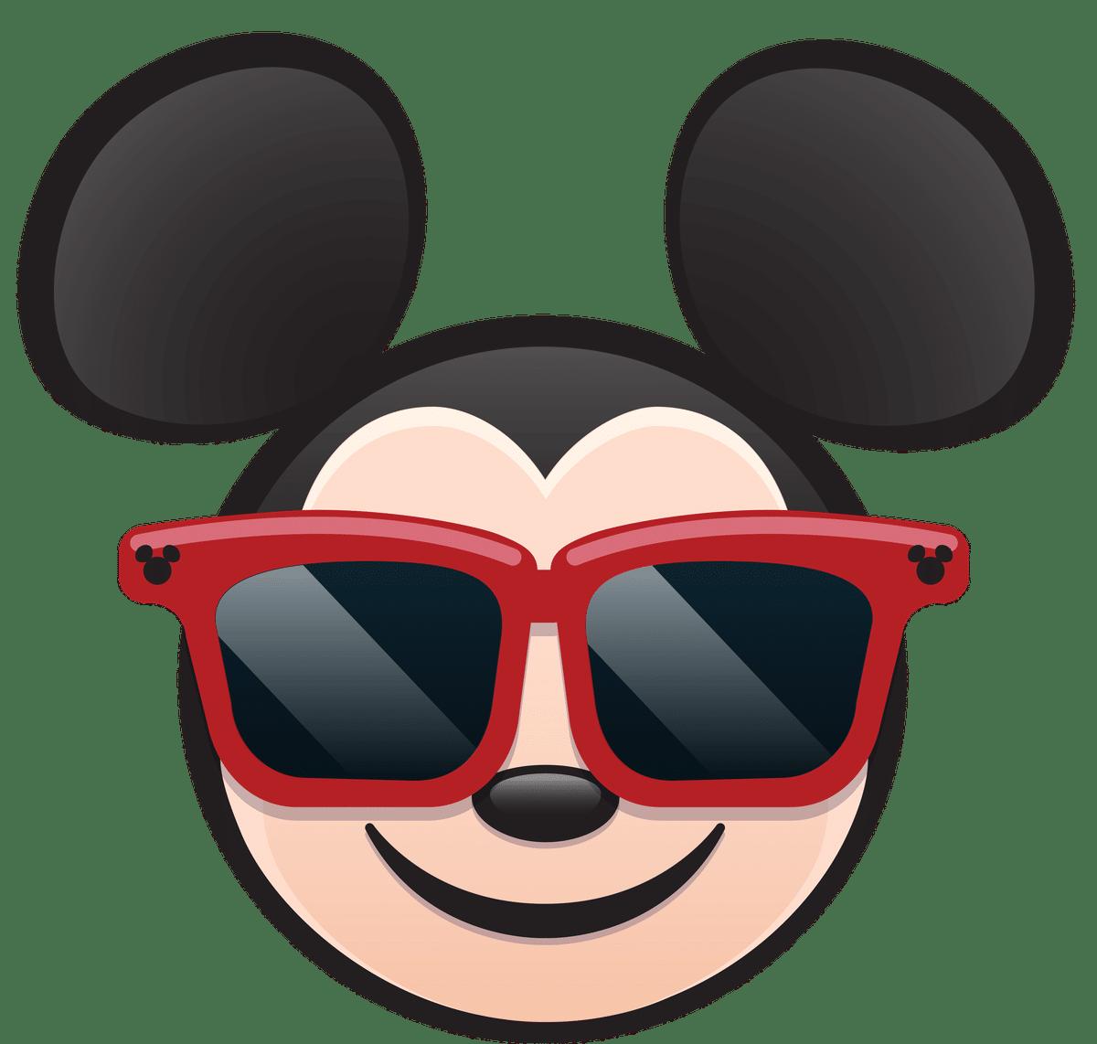 clipart sunglasses mickey