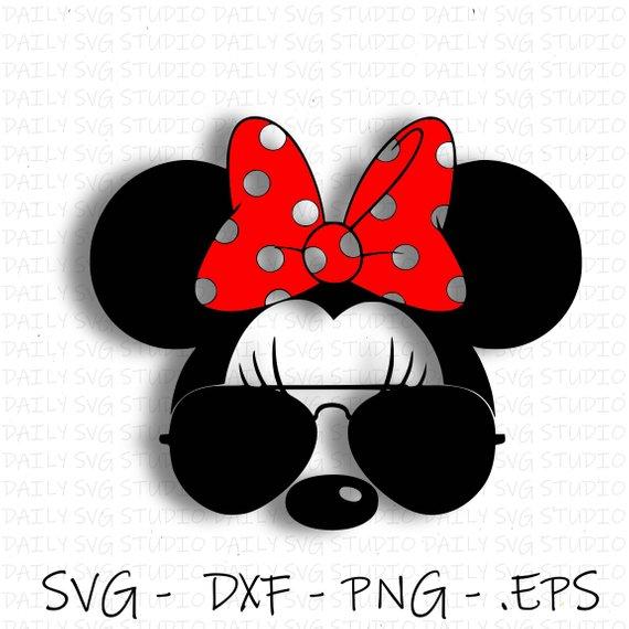 Sunglesses svg disney . Clipart glasses minnie mouse
