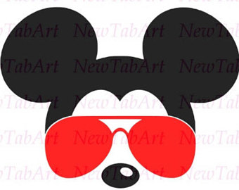 Head with . Clipart glasses minnie mouse