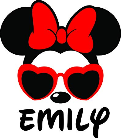 Clipart glasses minnie mouse. Amazon com face with