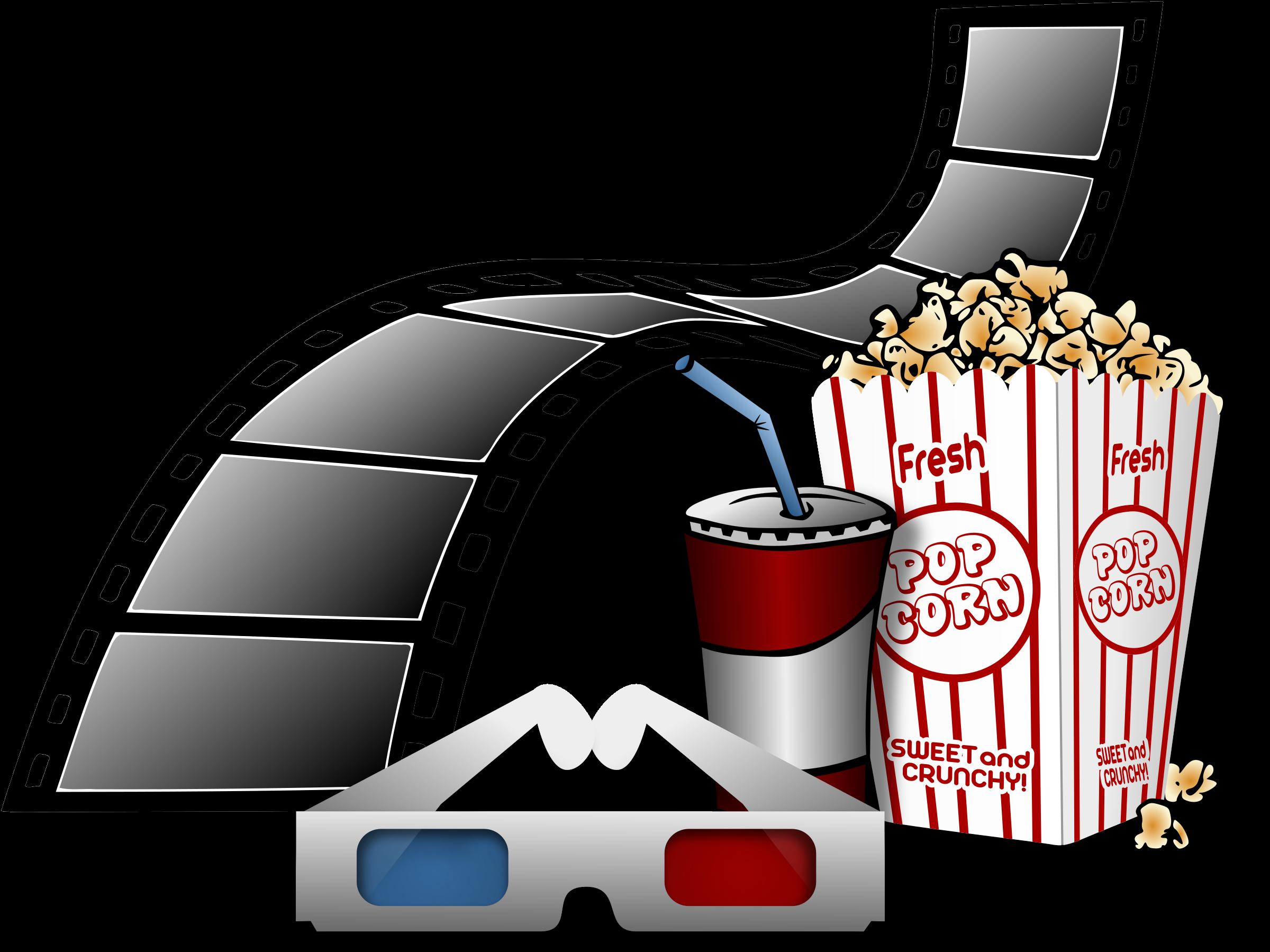 glasses clipart movie
