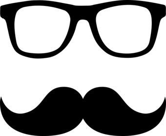 Sunglasses free and gray. Clipart glasses mustache