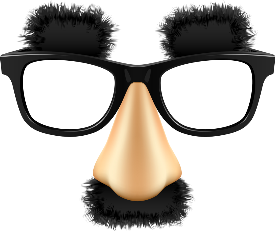 Disguise sticker by angie. Clipart glasses mustache