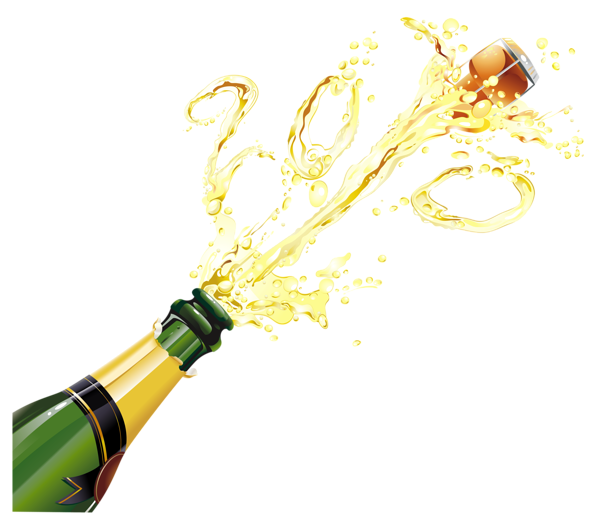 Glass clipart new year. Champagne png ano novo