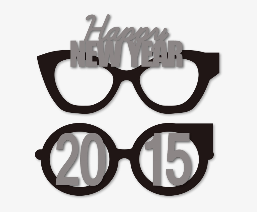 S party eye years. Clipart glasses new year