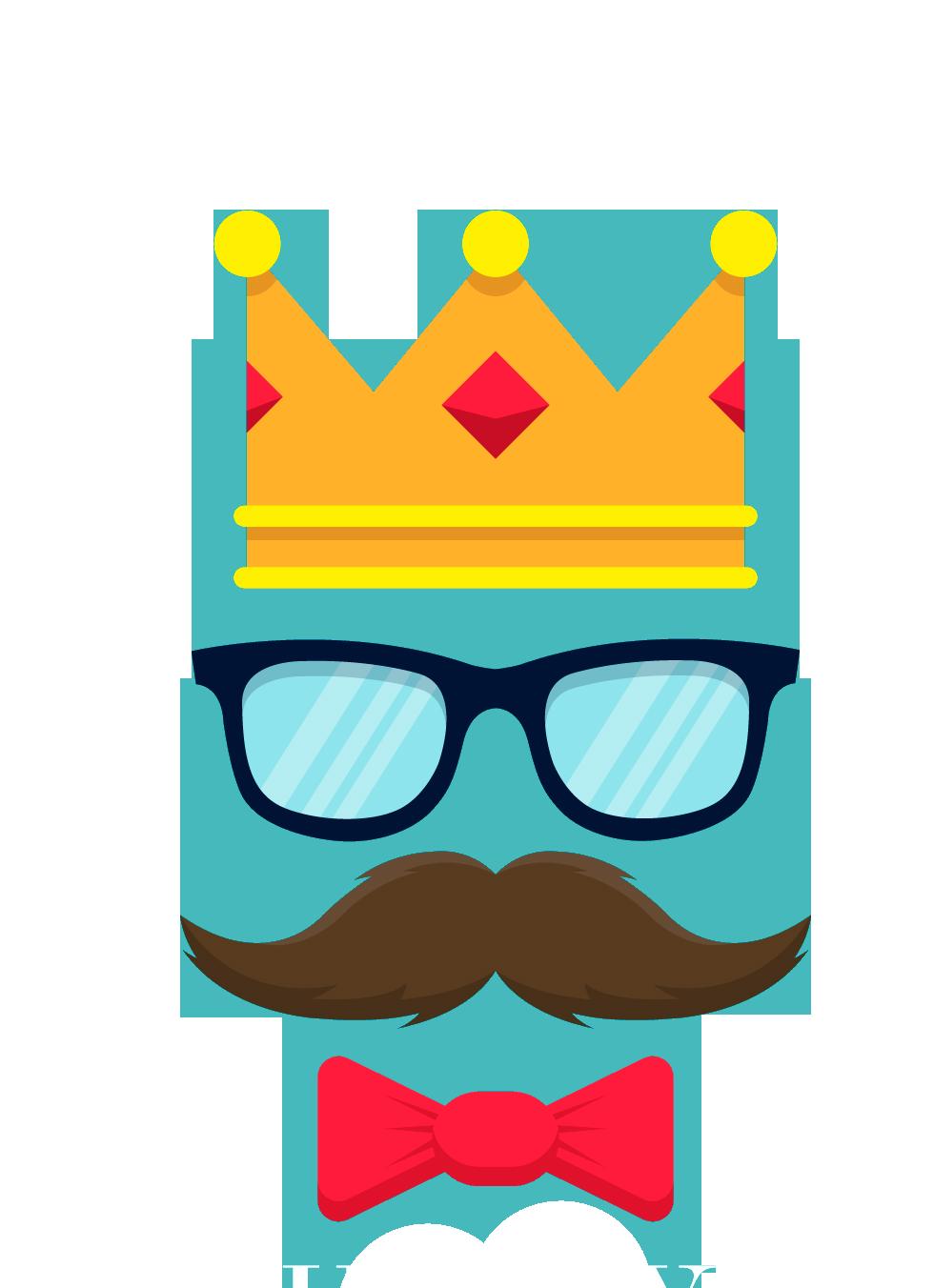 Fathers day png transparent. Moustache clipart sunglasses