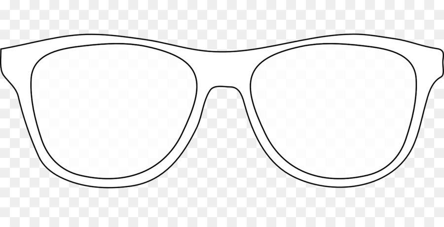 Eyeglasses clipart outline. Sunglasses glasses white