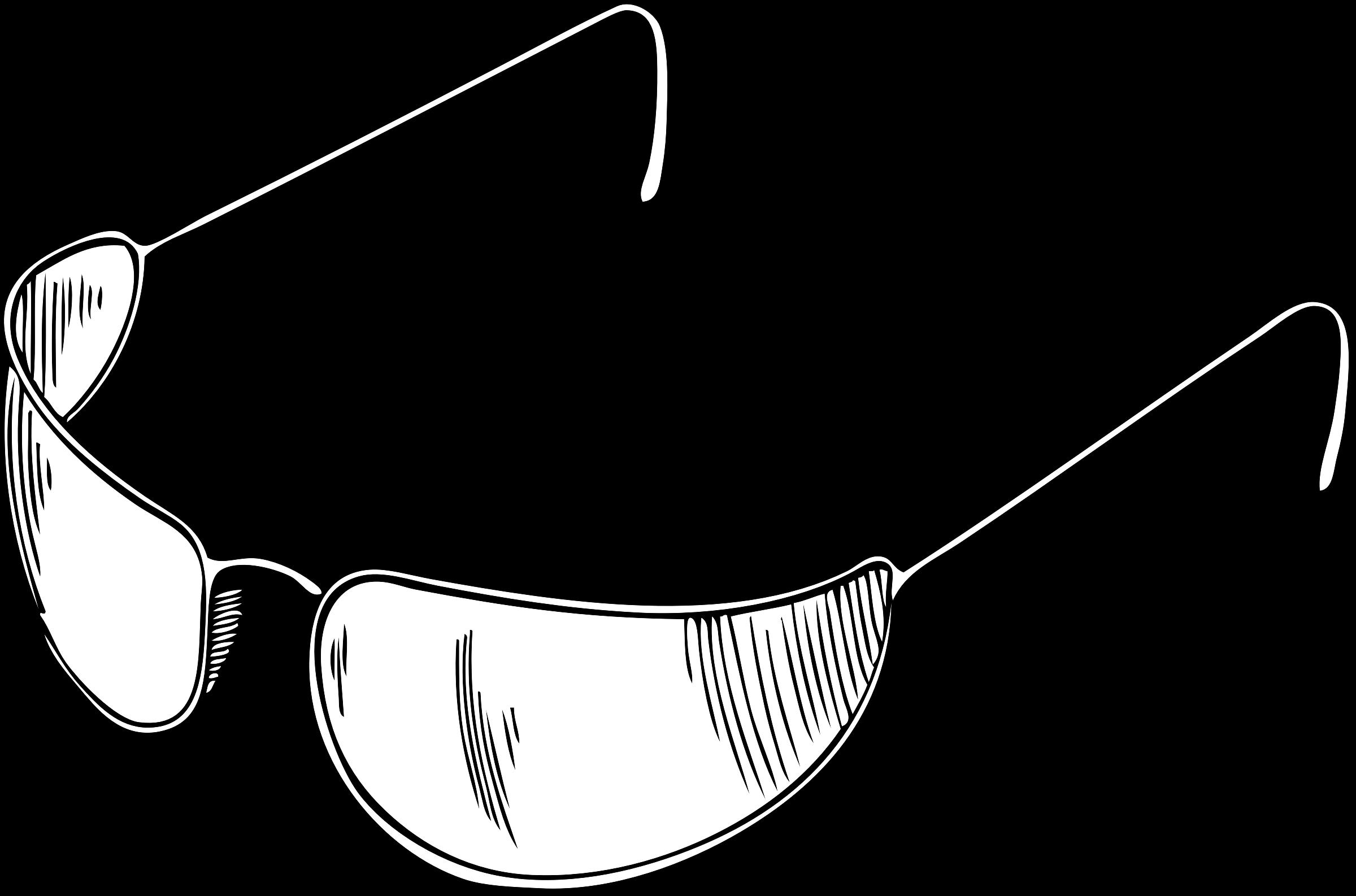 Eyeglasses big image png. Clipart sunglasses outline