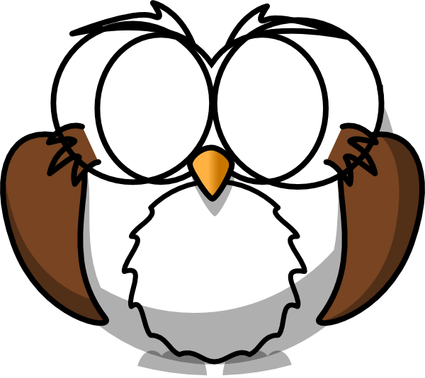 Owls clipart glass. Owl with glasses clip