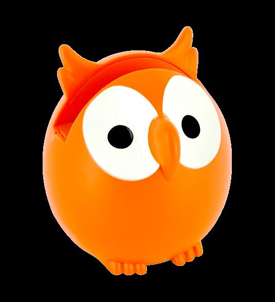 Holder pylones orange repose. Clipart glasses owl