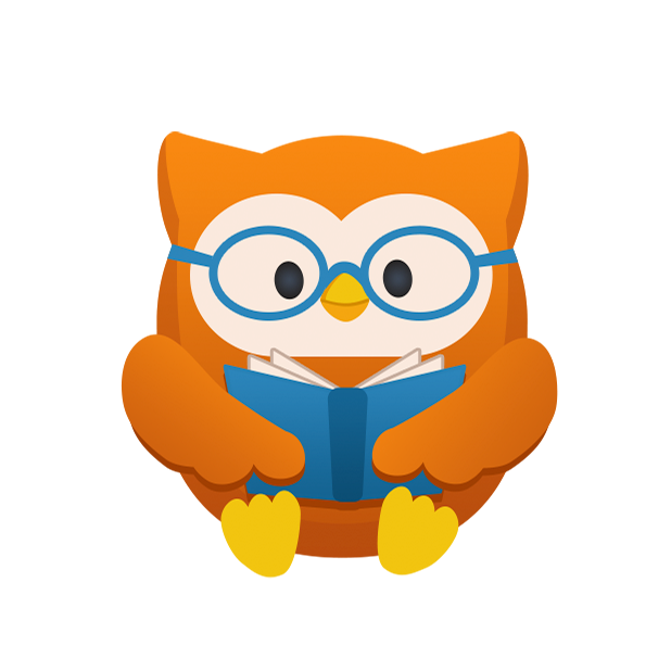 Clipart glasses owl. Oliver stickers by extrafeet