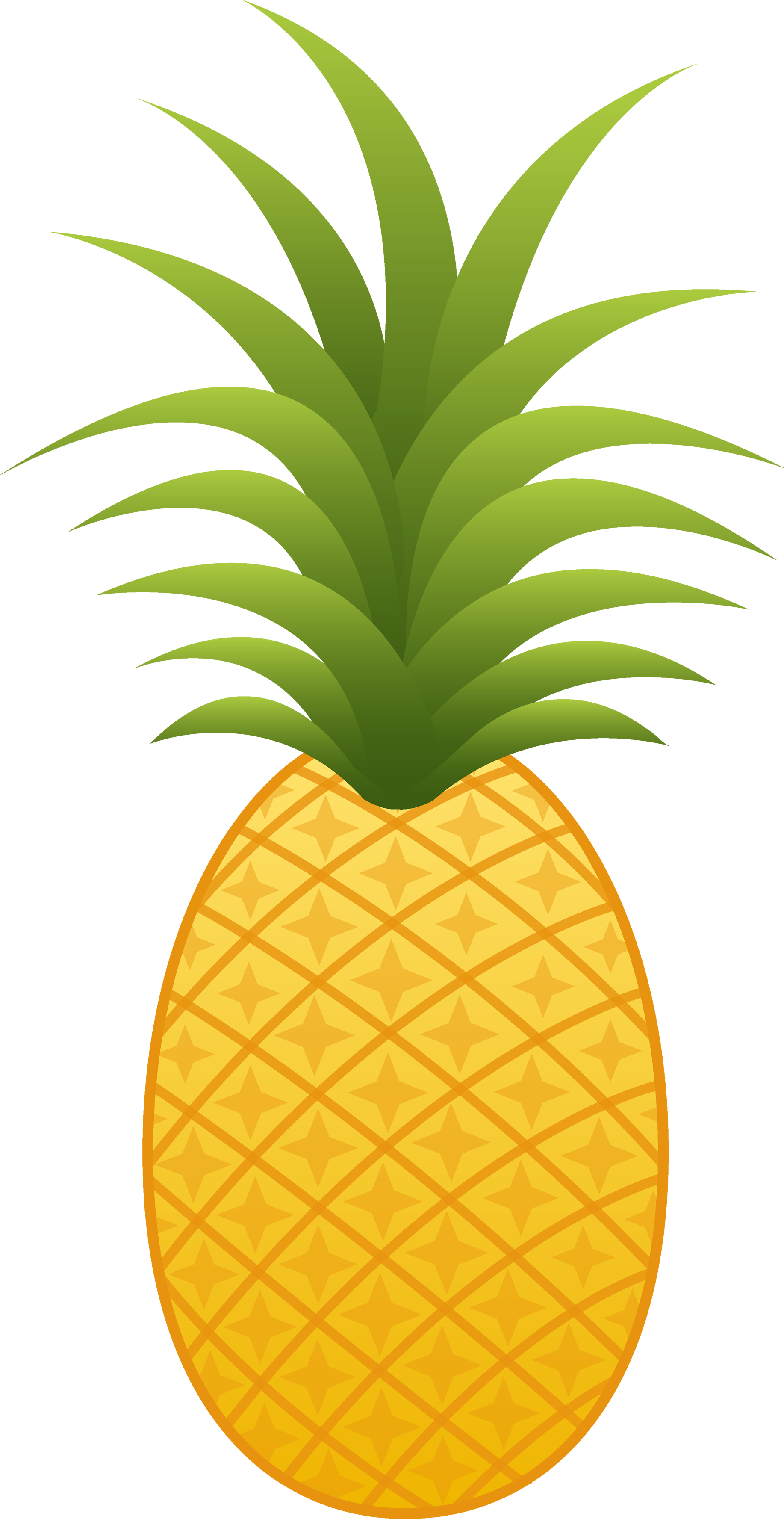 Twenty one isolated stock. Pineapple clipart man
