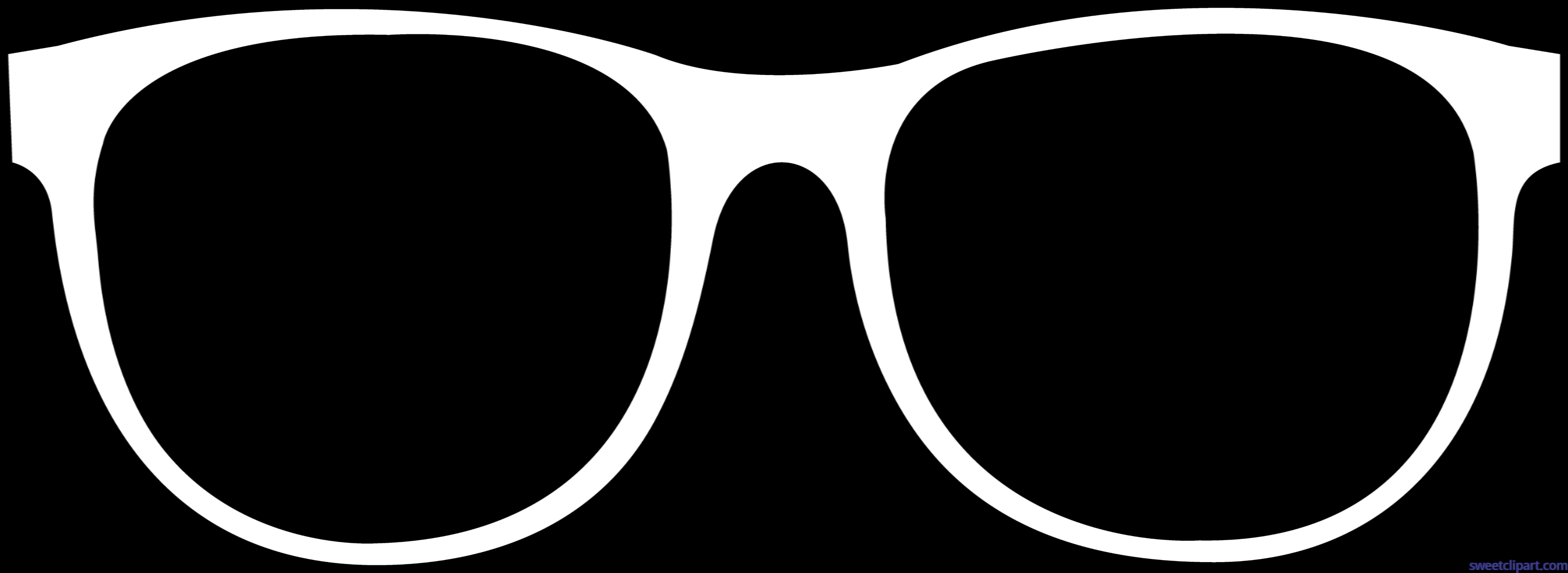 Glasses lineart clip art. Glass clipart eye