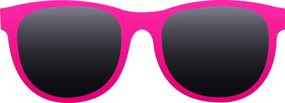 Goggles clipart pink. Sunglasses clip art library