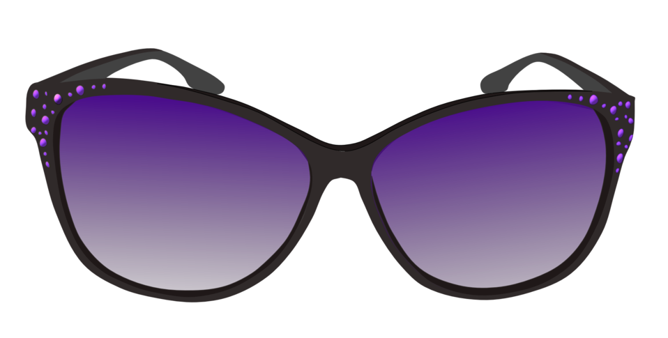 Public domain clip art. Clipart sunglasses purple