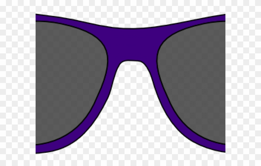 Clipart sunglasses purple. Png download