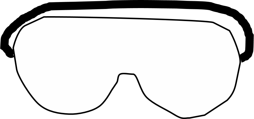Safety goggles free download. Sunglasses clipart goggle
