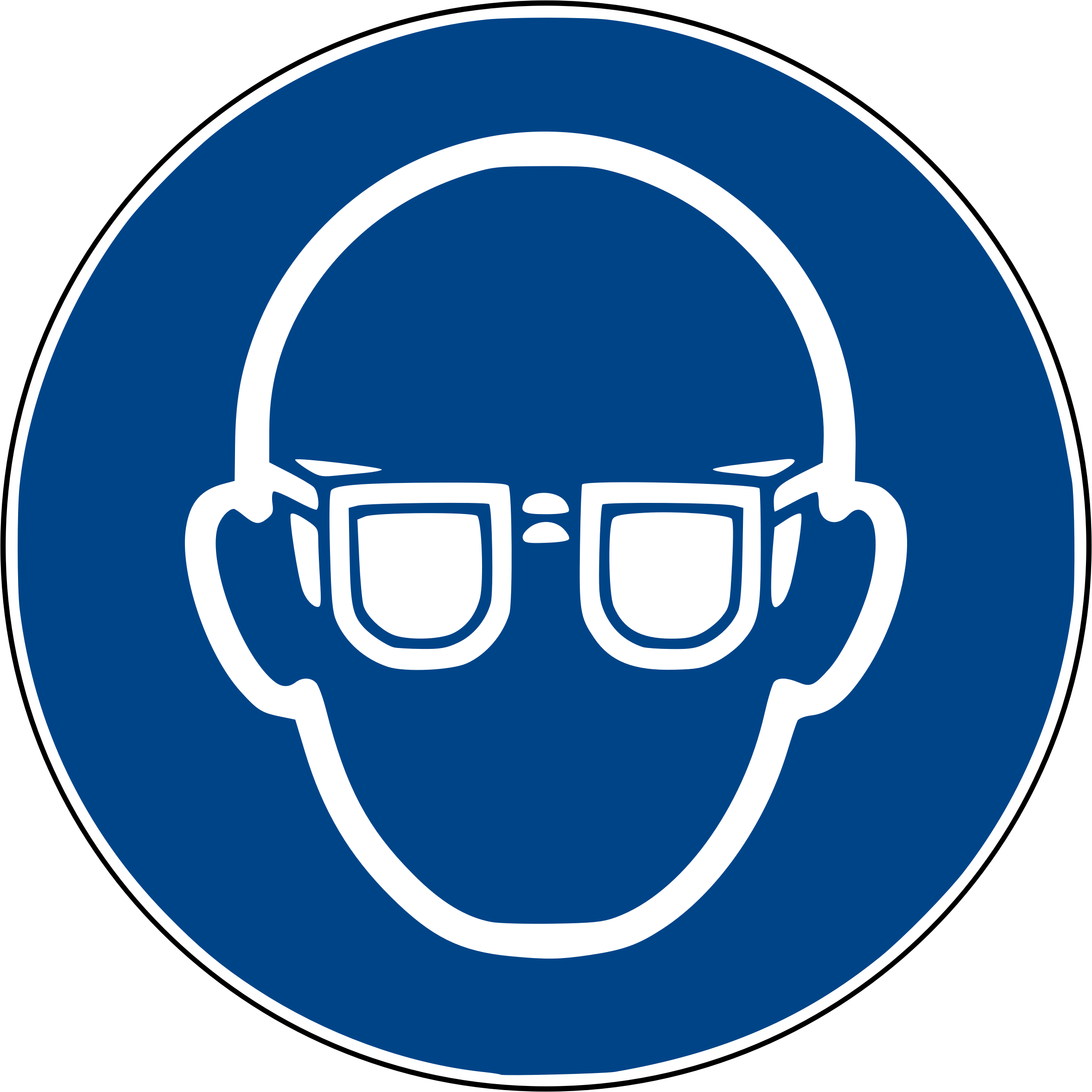 Protective wear big image. Goggles clipart cool eye