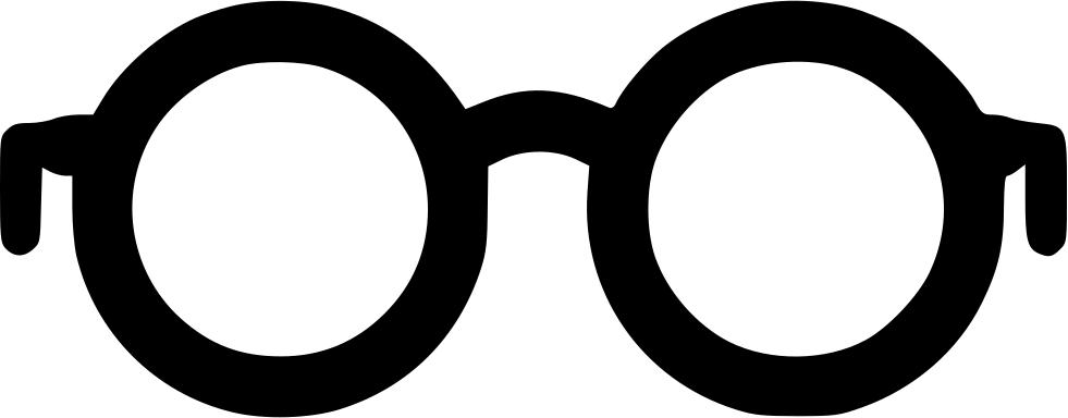 clipart glasses scar