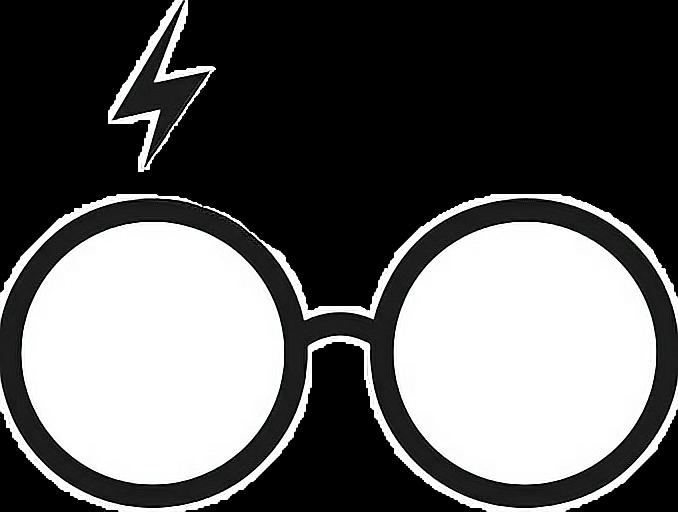 Glasses clip art literary. Eyeglasses clipart harry potter